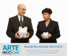 Palestra Online Gratuita – Arte de Negociar