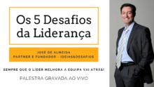 Palestra ao Vivo – Os 5 Desafios da Liderança